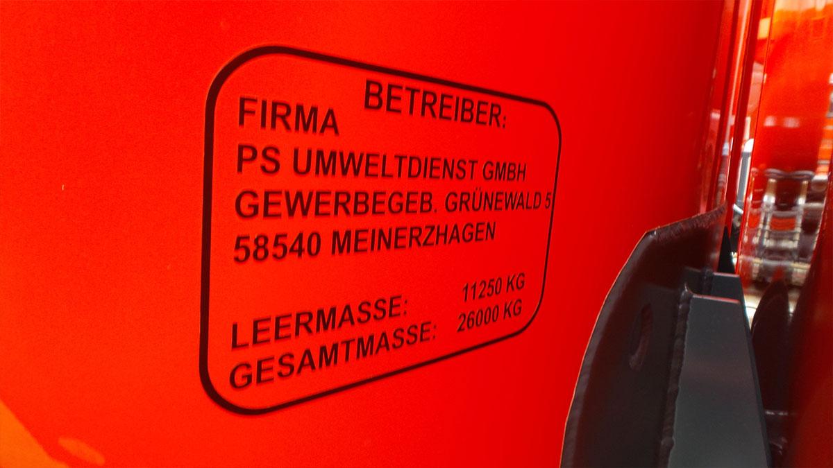 Neues Mehrkammer-Chemietankfahrzeug